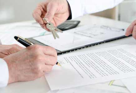 Tenant Signing