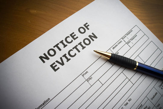 Evicting Deadbeat Tenants
