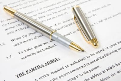Agreement between landlord and tenant